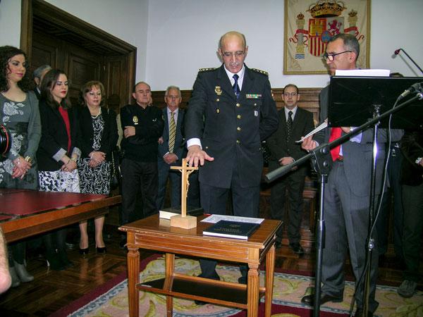 Soria cuenta desde hoy con nuevo comisario jefe de Policía