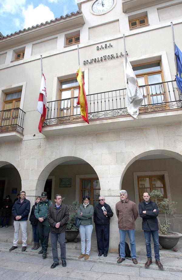 San Esteban de Gormaz recuerda a su vecina fallecida en el accidente aéreo