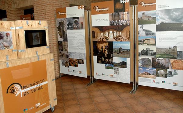 """Casi 8.500 visitantes se interesan por la exposición """"Románico en Soria y el ojo que lo mira"""""""