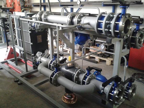 La red de calor reduce el ruido de las salas de calderas de gas o gasóleo