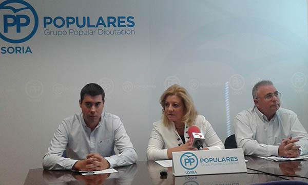 El PP acusa a PSOE-C´s de abandonar a pequeños pueblos en reparto de Planes