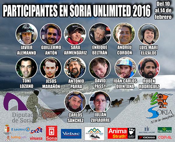 Catorce mushers, uno de ellos francés, afrontarán la Soria Unlimited 2016