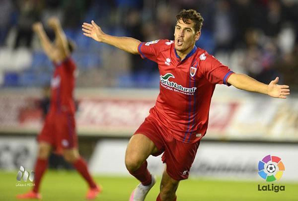 Alex Alegría se perderá el próximo partido frente al Mallorca