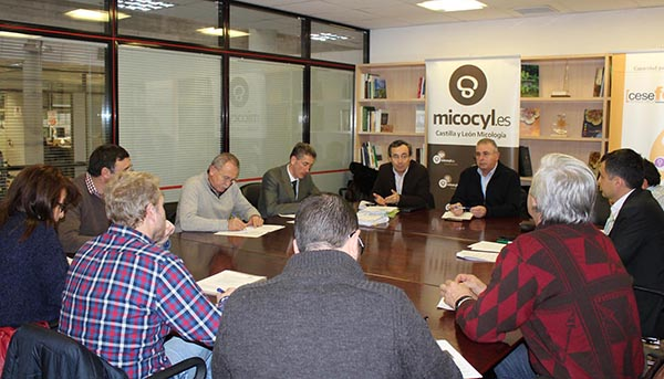 """Reunión """"positiva"""" del Comité Ejecutivo de la UGAM """"Montes de Soria"""""""