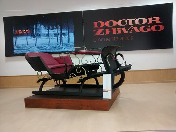 """La muestra """"Doctor Zhivago, cincuenta años"""" llega a Tardelcuende"""