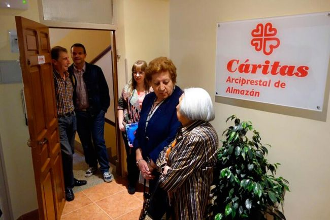 Cáritas arciprestal de Almazán tiene nueva sede