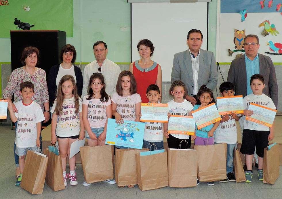 Alumnos del colegio de San Leonardo, premiados por el MAGRAMA en concurso sobre alimentación