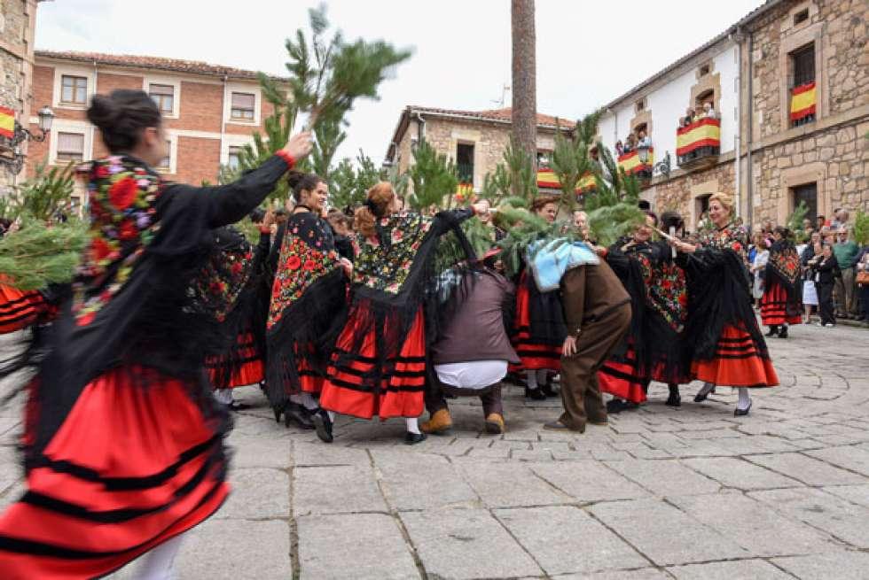 Vinuesa se cita por San Roque con su Pinochada