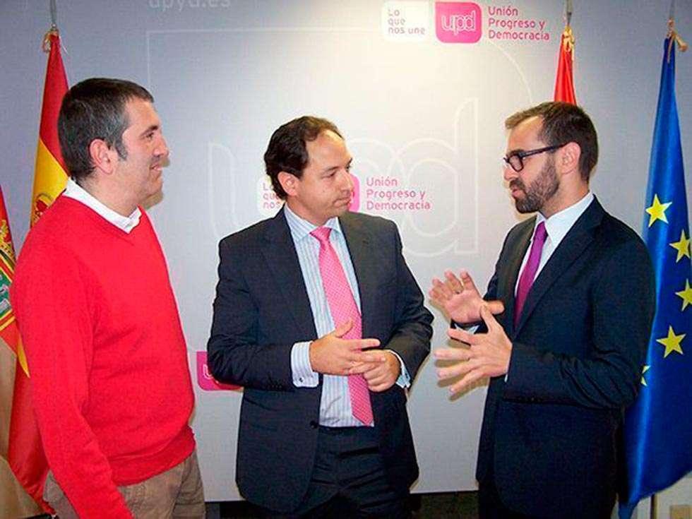 El burgalés Del Hoyo, nuevo coordinador territorial de UPYD en Castilla y León