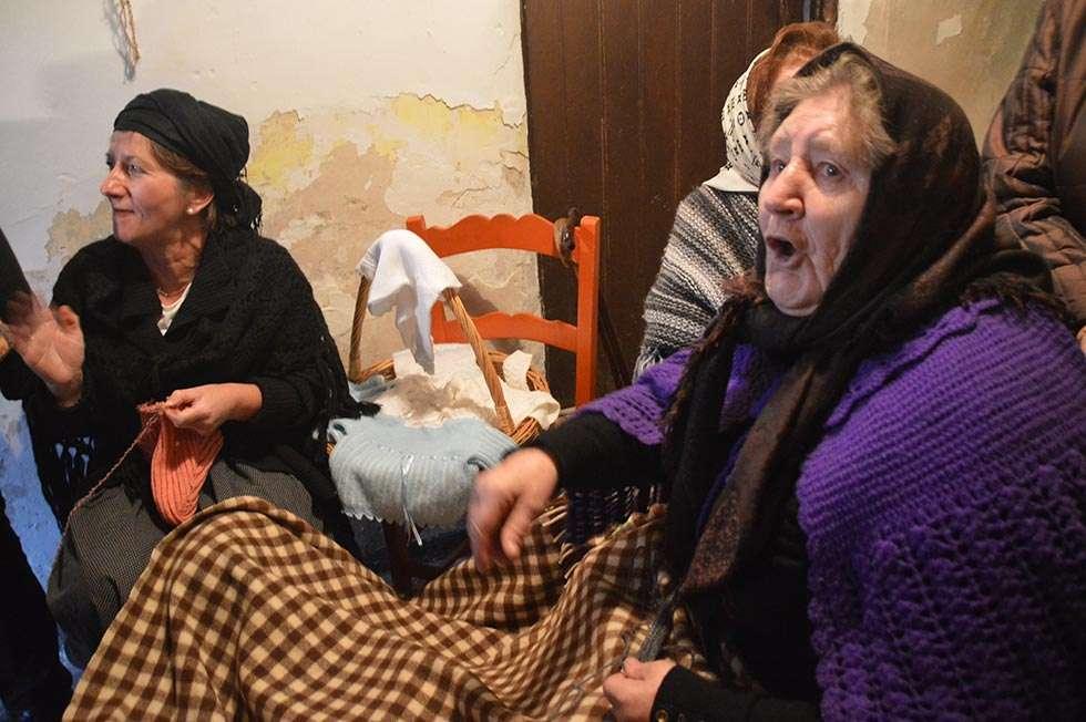 El Belén viviente de Oncala atrae a más de dos mil personas