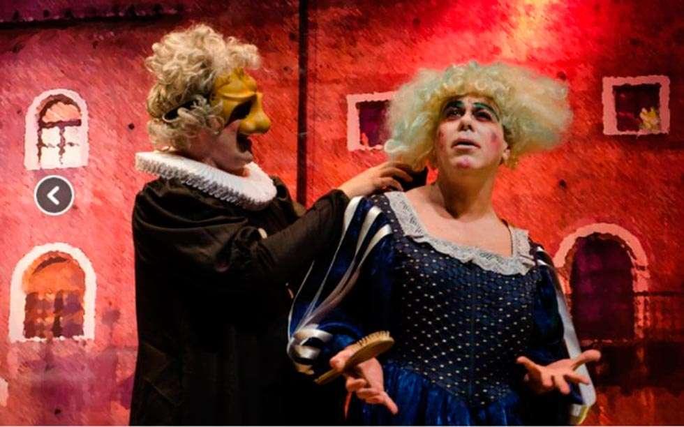 """Teatro en Ólvega con """"Los dos gemelos venecianos"""""""