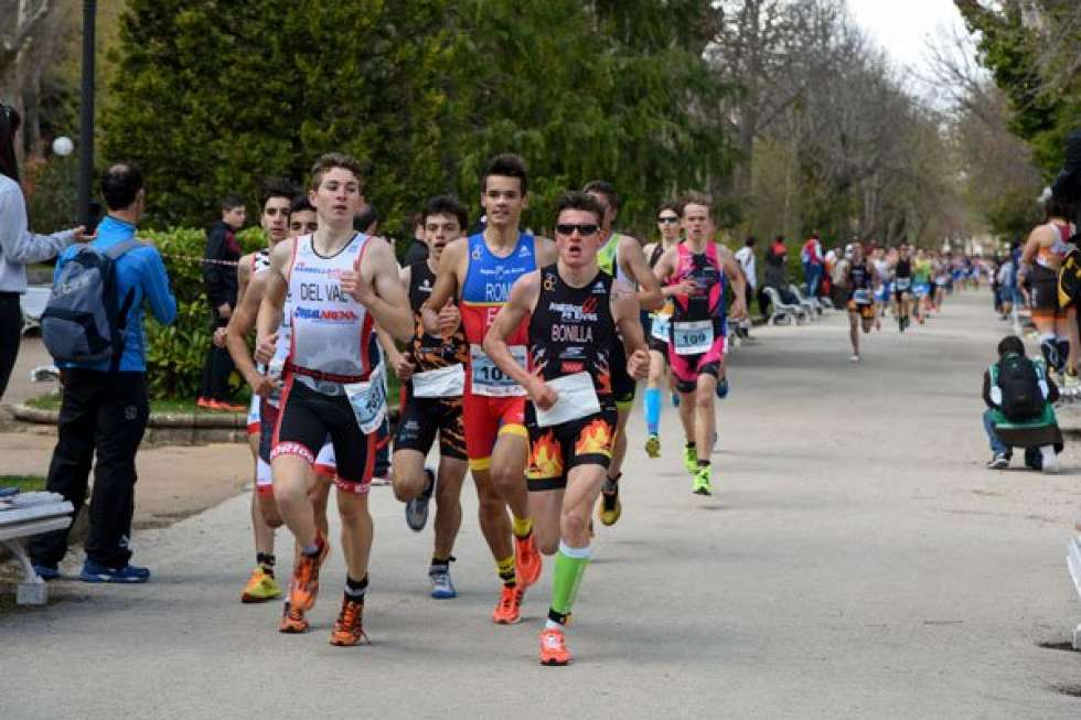 Los Sub 23 y los Junior españoles, a por las medallas en el Europeo de Duatlón de Soria