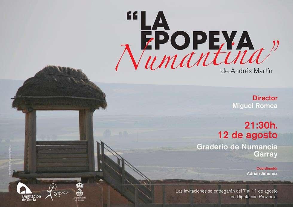 """La Diputación estrena """"La Epopeya Numantina"""" compuesta por Andrés Martín"""