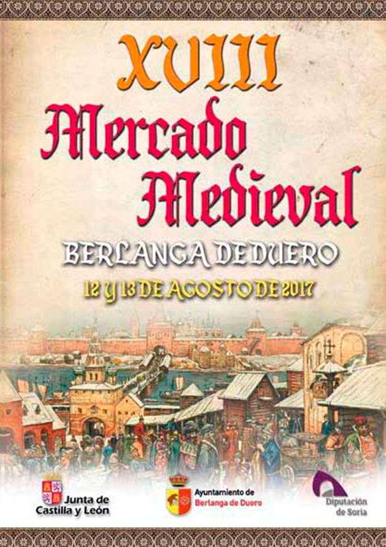 El mercado medieval de Berlanga de Duero cumple su XVIII edición