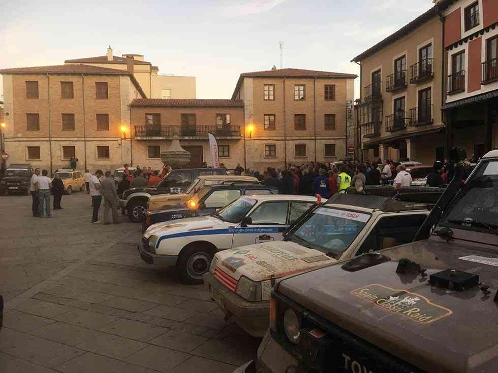 El Burgo de Osma, final y principio de etapa de la IV edición del Spain Classic Raid