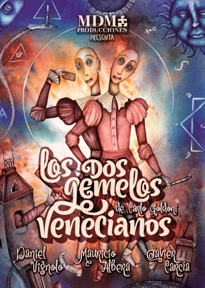 """Teatro cómico en Almazán con """"Los Dos Gemelos Venecianos"""""""