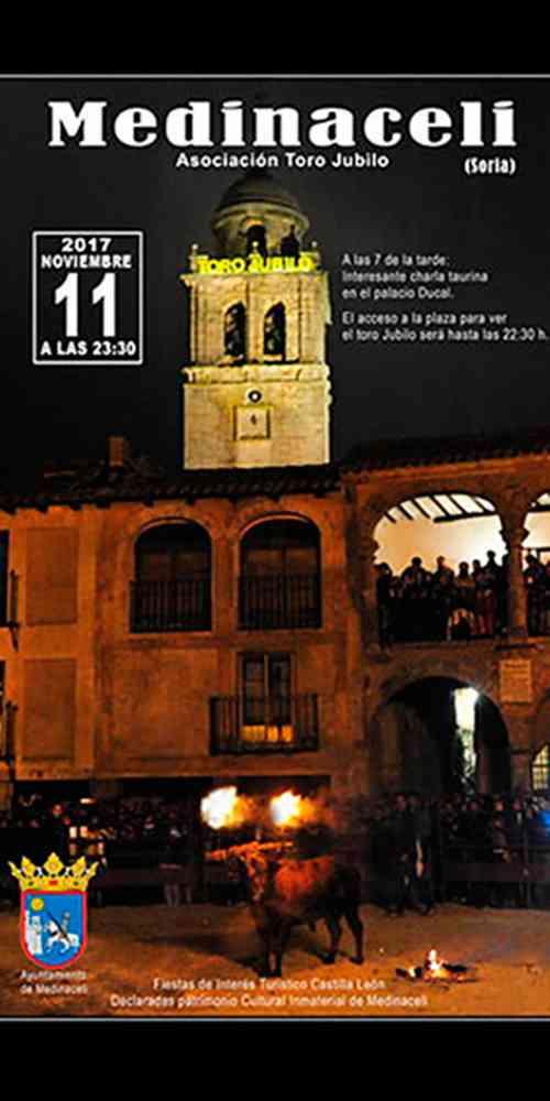 Programa de las fiestas de los Cuerpos Santos, en Medinaceli