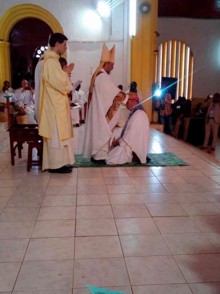 Mons. Jesús Ruiz Molina, ordenado obispo auxiliar de Bangassou