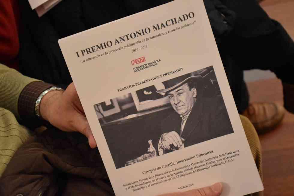 El II Premio Machado y desarrollo sostenible se convocará para institutos de toda España