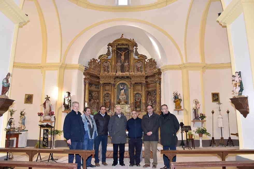 Concluyen los trabajos de restauración en la iglesia de Hinojosa del Campo