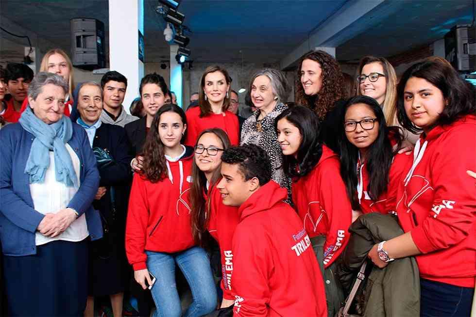 Donación colectiva de sangre en el colegio Trilema Soria