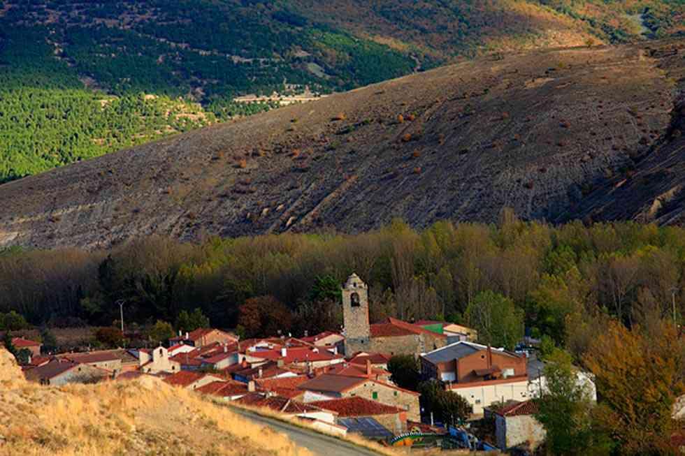 Ruta senderista desde San Pedro Manrique a Yanguas