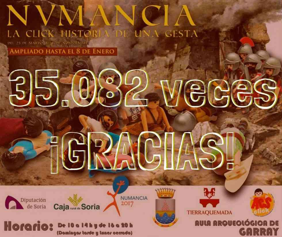Más de 35.000 visitantes reciben la exposición Click de Playmobil