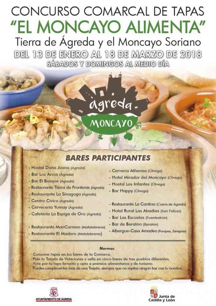 """""""El Moncayo Alimenta"""", un concurso comarcal de tapas para dinamizar la zona"""