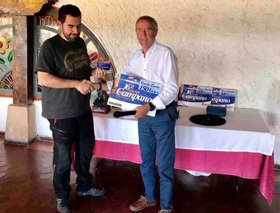 El durolense Óscar Fernández gana la XVI edición del Campano Soriano