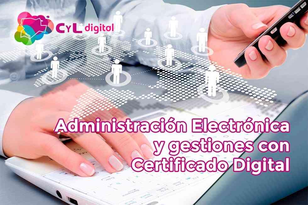 Curso online sobre Administración Electrónica y Certificado Digital
