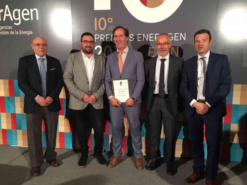 La Red de Calor de Soria, Premio Nacional de Energía EnerAgen 2018