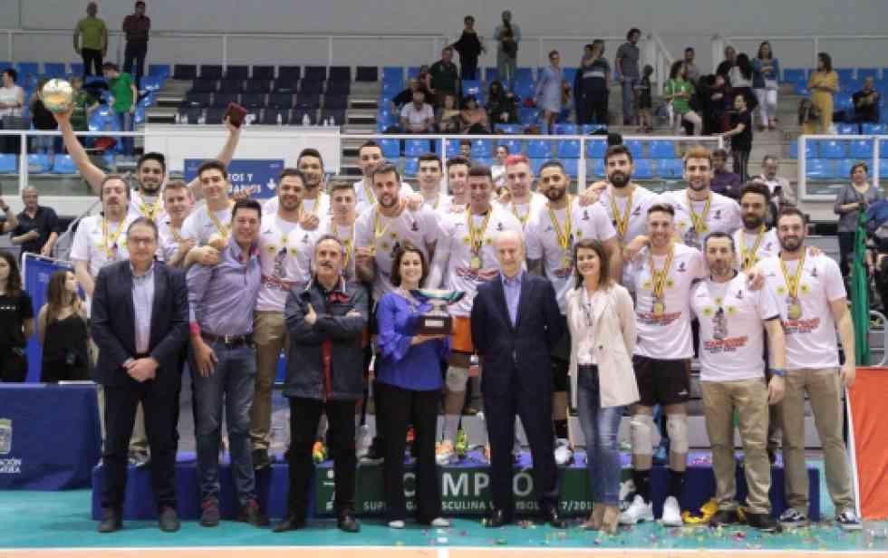 El C.V. Teruel también se anota la Superliga