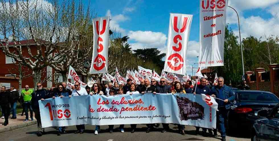 USO exige la recuperación de los salarios y las pensiones