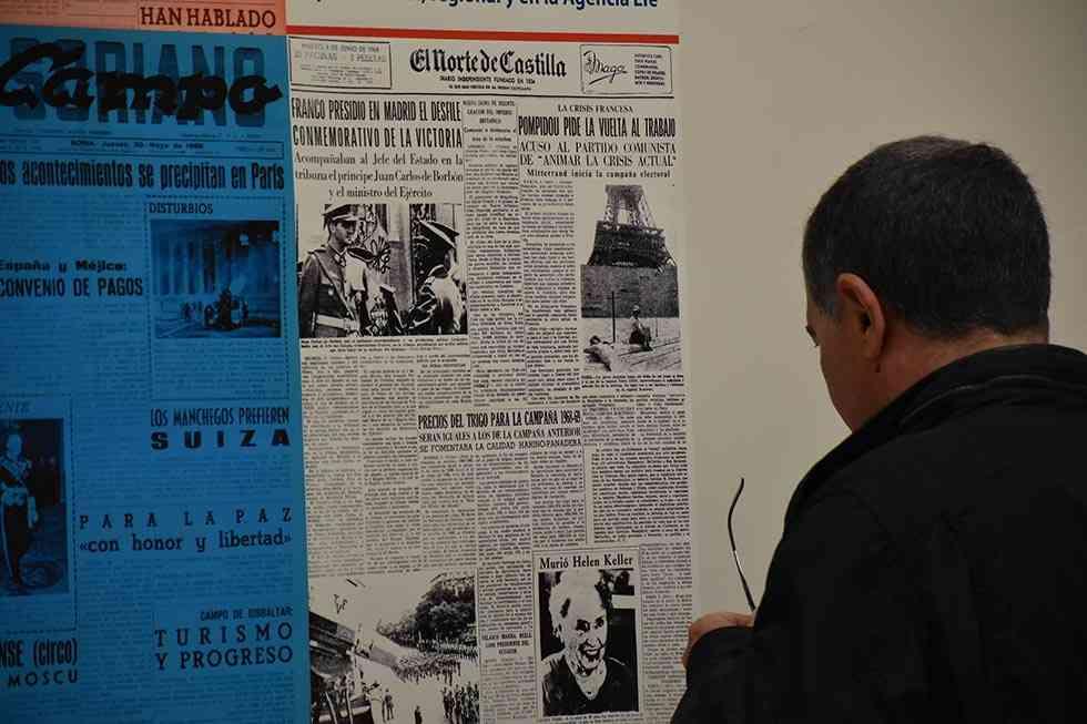 """Medio siglo de """"Mayo del 68"""", en el Gaya Nuño"""