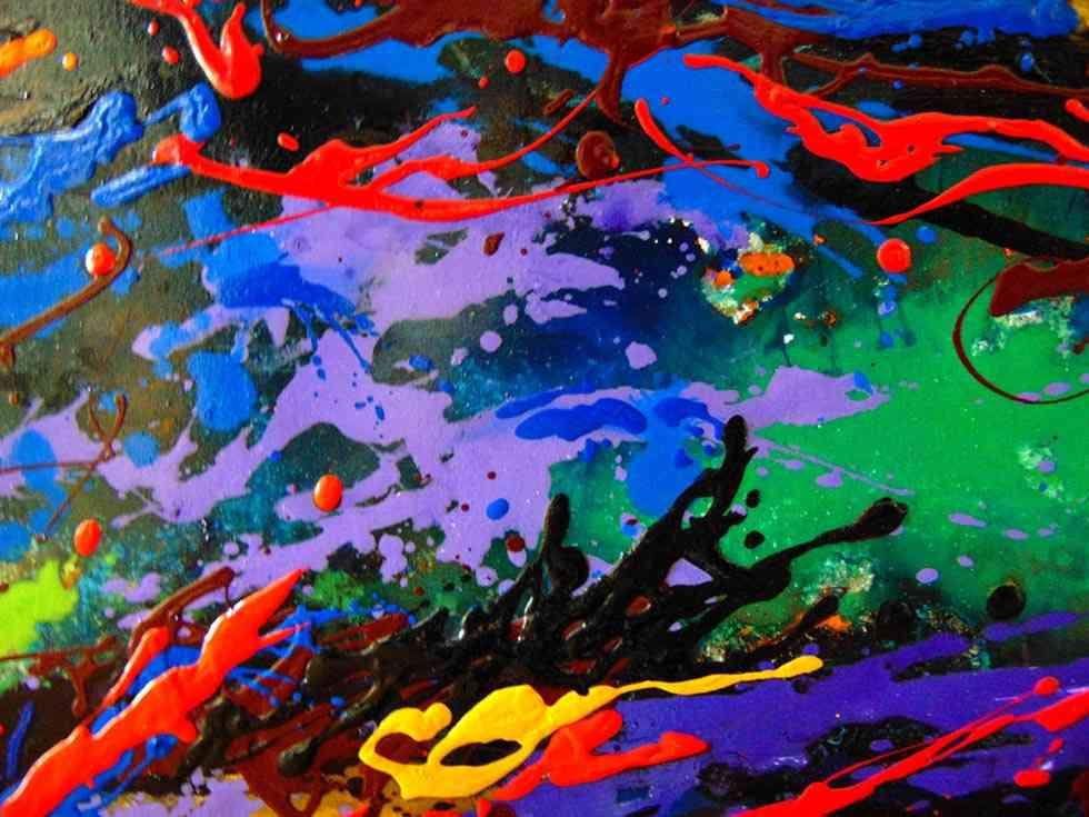 El expresionismo abstracto de Requena Nozal, en Soria