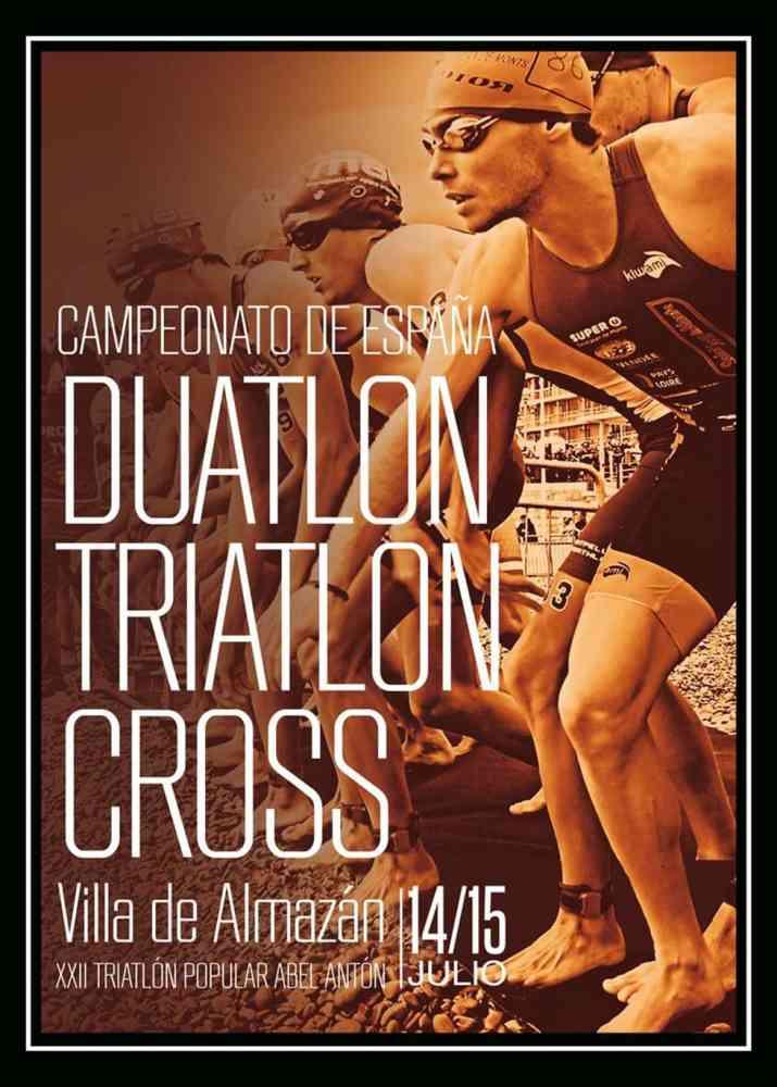El mejor triatlón nacional se cita en Almazán