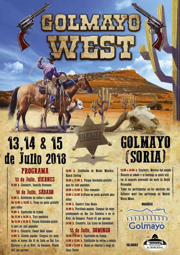 Golmayo West trae el oeste americano a Soria
