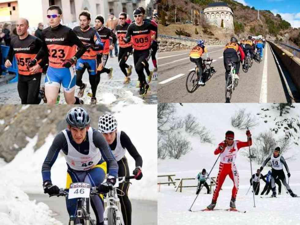 Vinuesa abre el calendario nacional de triatlón en 2019
