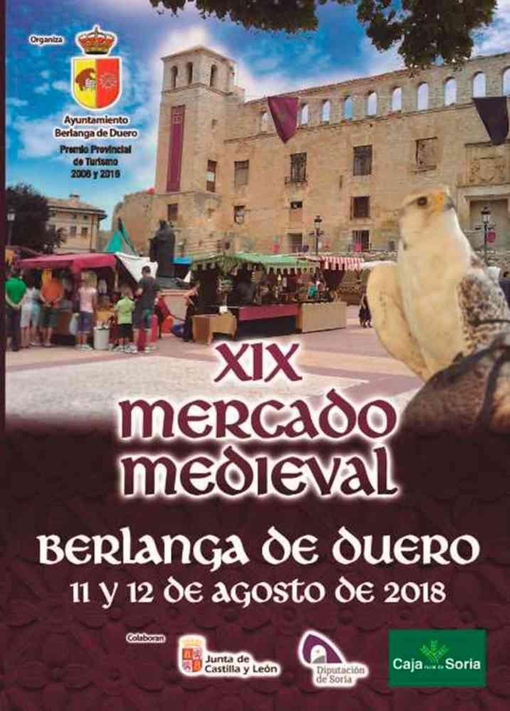 Programa para el mercado medieval de Berlanga de Duero