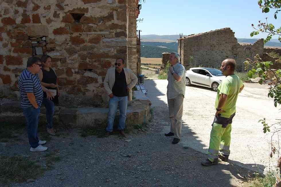 Sarnago consigue su carretera de asfalto 87 años después