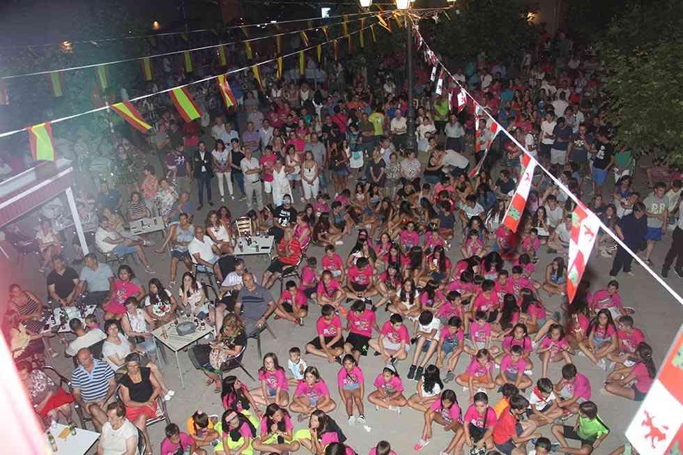 Barcones pregona las fiestas de Tardelcuende