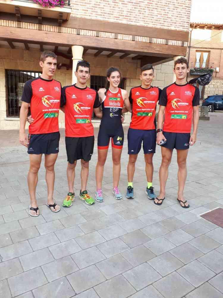 El Deporama-Joven In brilla en regional de triatlón cross