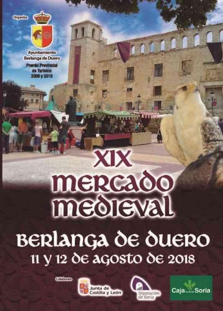 Programa del XIX mercado medieval de Berlanga de Duero