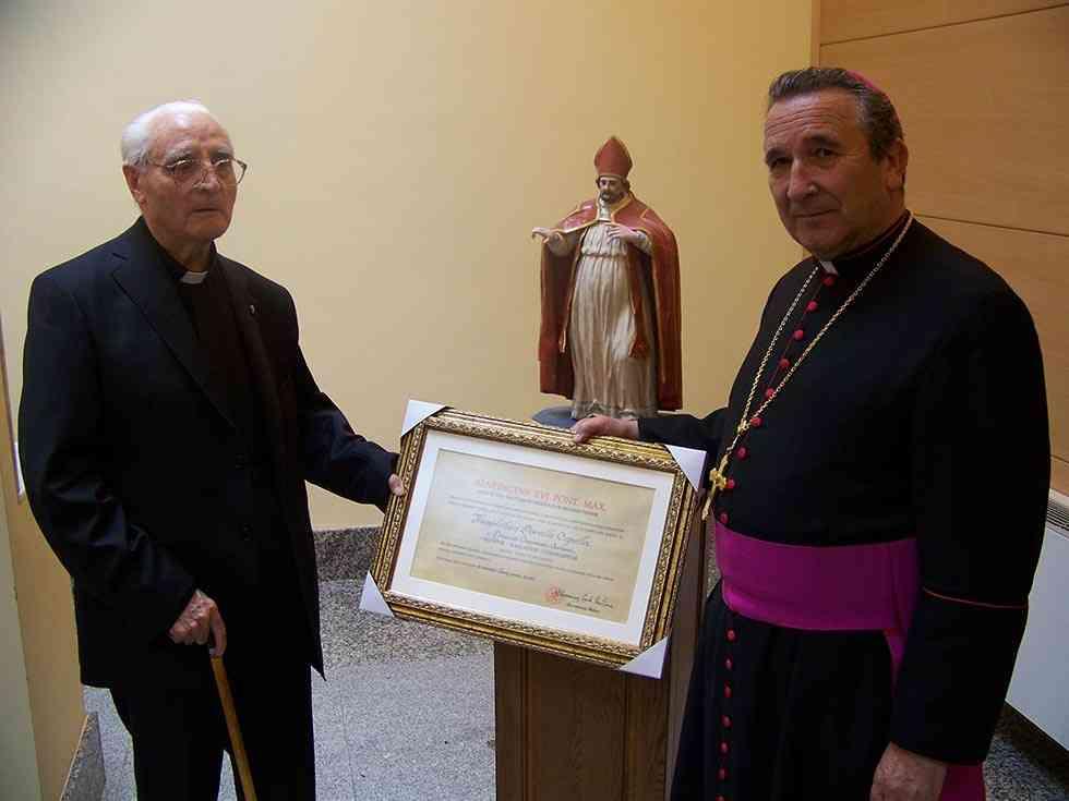 Fallece Mons. Teófilo Portillo, Prelado de Honor del Papa