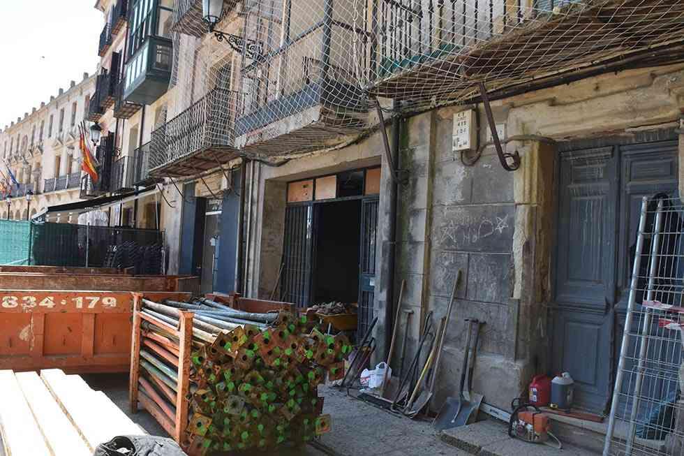El PP denuncia improvisación municipal en derribo de edificio