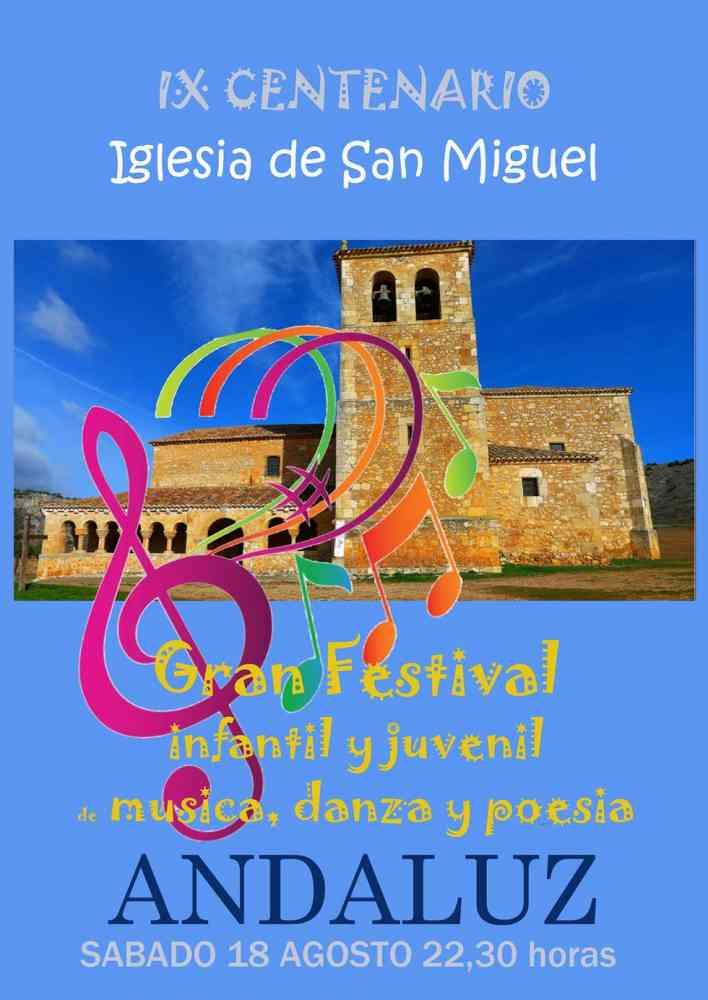 Andaluz celebra el IX centenario de la construcción de su iglesia