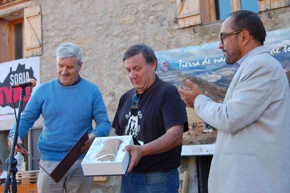 La asociación cultural Amigos de Sarnago recibe el premio Colodra