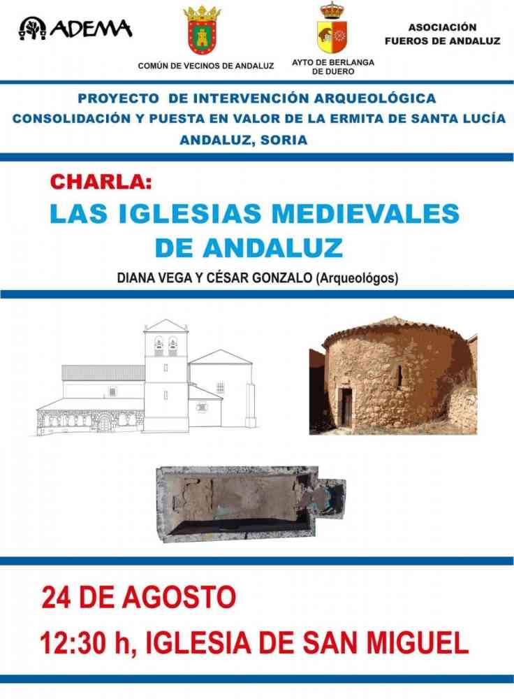 Ponencia arqueológica sobre iglesias medievales en Andaluz