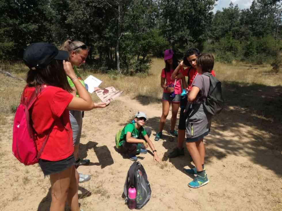 Clausurado el primer turno del campamento infantil en Valonsadero