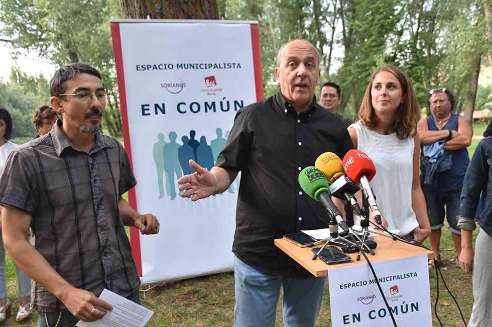 IU y Soria@s impulsan un espacio en común para un cambio desde la izquierda